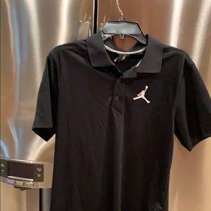 New Nike Jumpman Black Dress Shirt Size Small